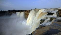 Chitrakot Waterfalls in Chhattisgarh, The Niagara Falls of India