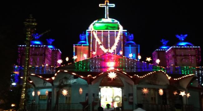 St. Mary Catholic Church Tatibandh Colony, Raipur, Chhattisgarh